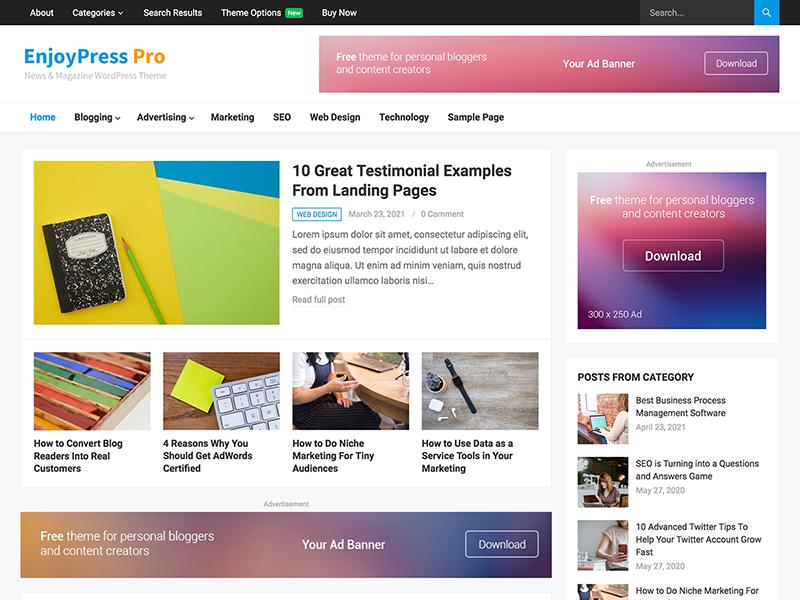 EnjoyPress Pro